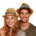 Cappellini di paglia
