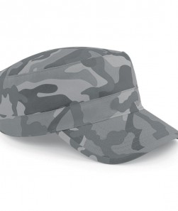 CAMOUFLAGE ARMY CAP 100%C TWIL