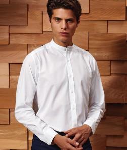 Collar 'Grandad' LS Shirt65%P3