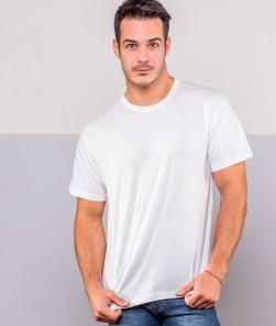 ragazzo con maglietta bianca manica corta