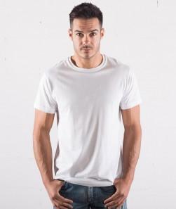 T-shirt bianca 150gr manica corta