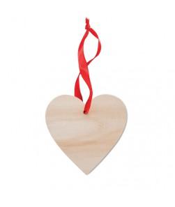 WOOHEART - Decorazione a forma di cuore